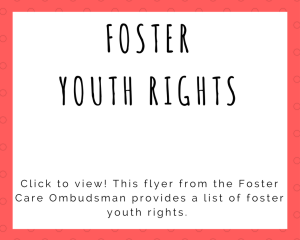 Foster Youth Rights