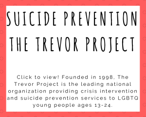 Suicide Prevention- The Trevor Project (1)